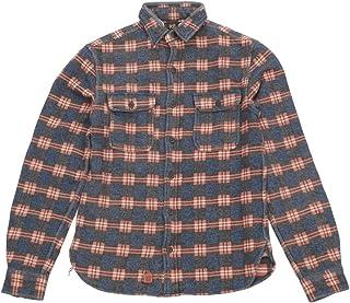 (ダブルアールエル)RRL リペア ド ジャカード ワークシャツ メンズ Repaired Jacquard Workshirts 並行輸入品 [並行輸入品]