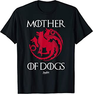 Mother Of Dogs Mom Cool Dog Owner Funny Dog Lover Mother Day T-Shirt