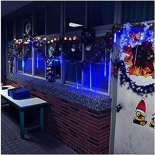 MIYU Outdoor Meteor Shower Rain LED Tubes String Lights Falling Snow Christmas Tree Lamp Wedding Garden Landscape Holiday ...