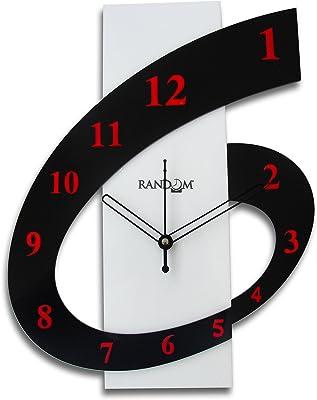 Random Clocks Rectangle Polymer Wall Clock (30 cm x 25 cm x 5 cm)