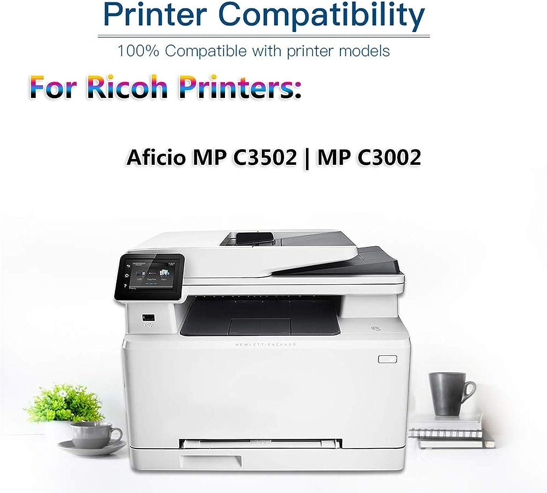 1 Pack (Magenta) Compatible High Yield Aficio MP C3502 | MP C3002 Printer Toner Replacement for Ricoh 841737 Laser Printer Toner Cartridge