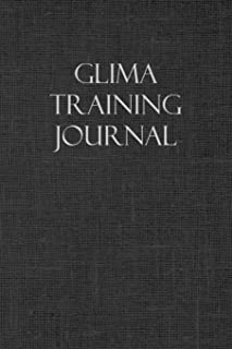 Glima Training Journal: Notebook and workout diary: For training session notes