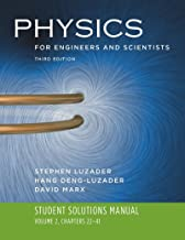 Student Solutions Manual: for Physics for Engineers and Scientists, Third Edition (Vol. 2)