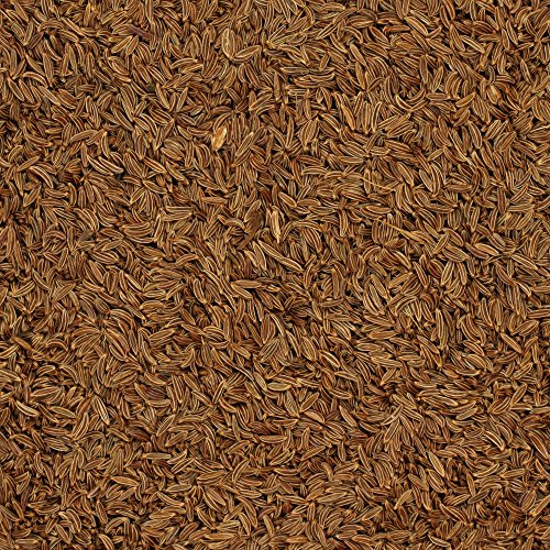 The Spice Lab No. 123 - Whole Caraway Seeds - Kosher Gluten-Free Non-GMO All Natural Spice - 4 oz Resealable Bag