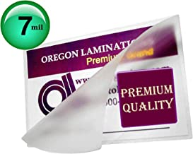 Qty 500 Business Card Laminating Pouches 7 Mil 2-1/4 x 3-3/4