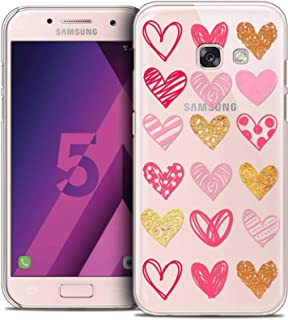 Samsung Galaxy A5 2017 Case, Ultra Thin Sweetie Doodling Hearts Case for Samsung Galaxy A5 2017