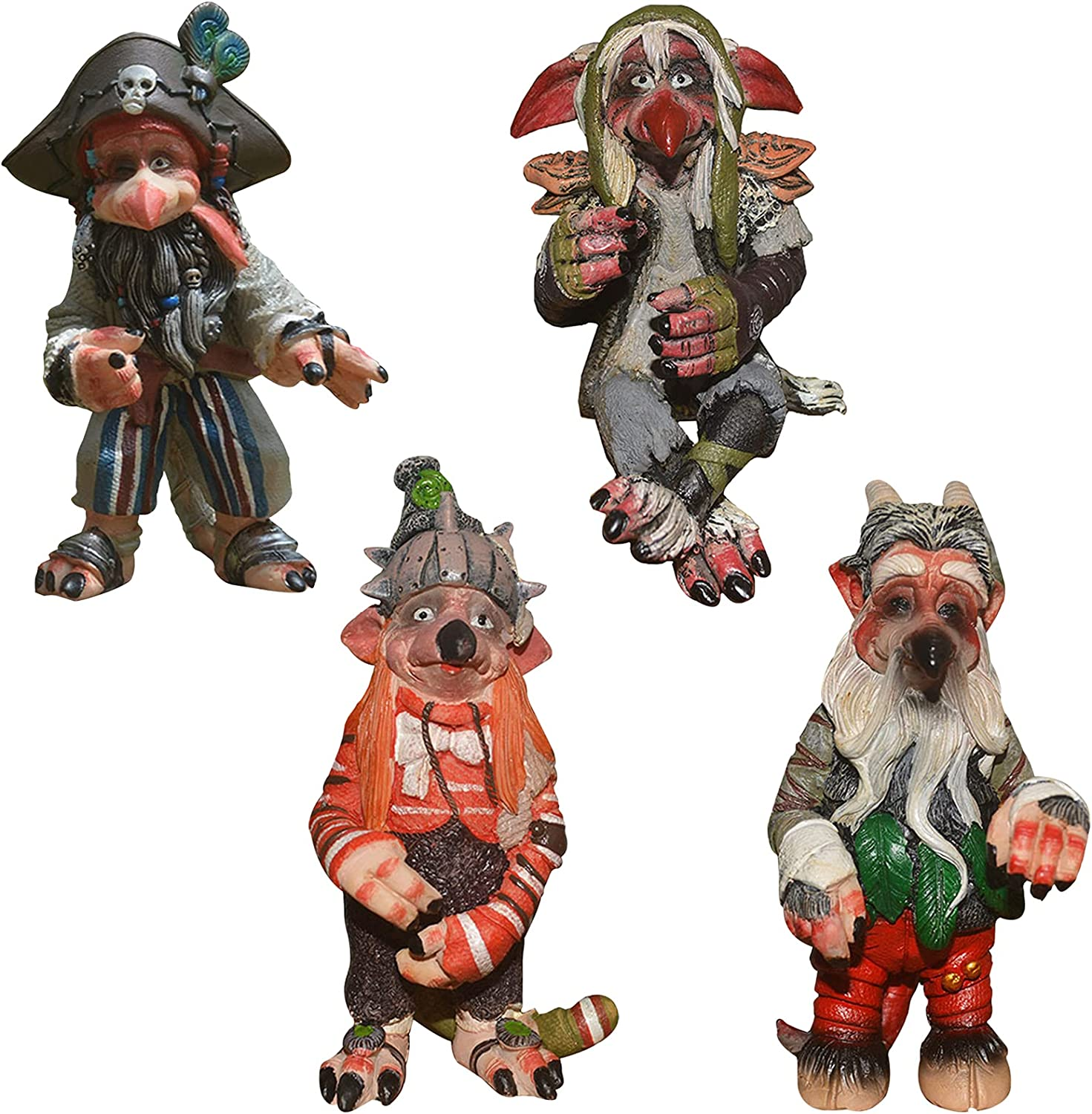 Garden Goblin Statues Outdoor Decoration Scu Special price for a limited time Alien Gothic Atlanta Mall Savage