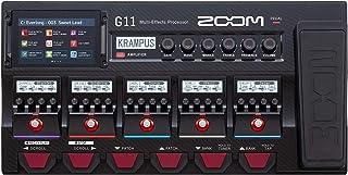ZOOM ズーム ギター用エフェクター/IRローダー機能搭載 タッチパネル対応 フラッグシップモデル【メーカー3年延長保証付】 G11