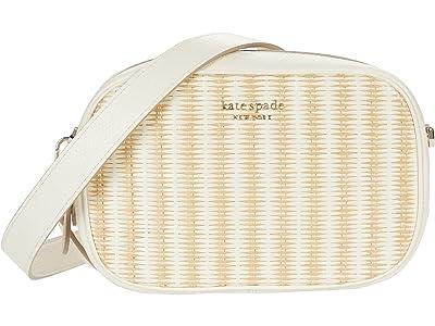 Kate Spade New York Astrid Straw Medium Camera Bag