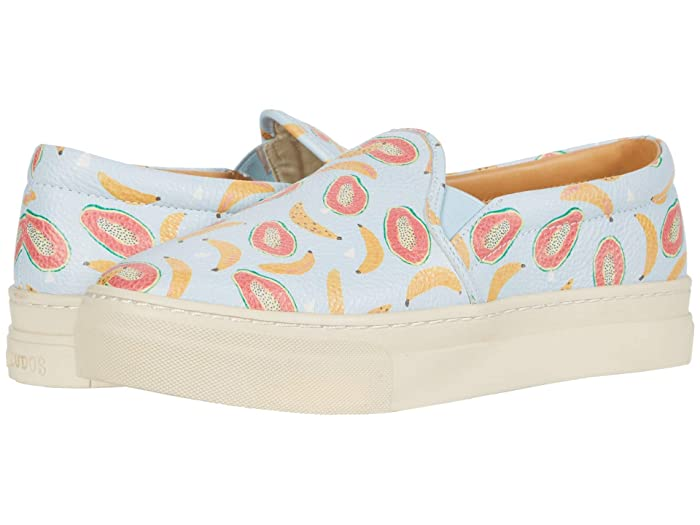 Soludos  Papaya Banana Sneaker (Blue) Womens Shoes