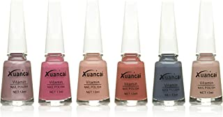 UANCAI Nail Polish Nude Colors Set 6Pcs