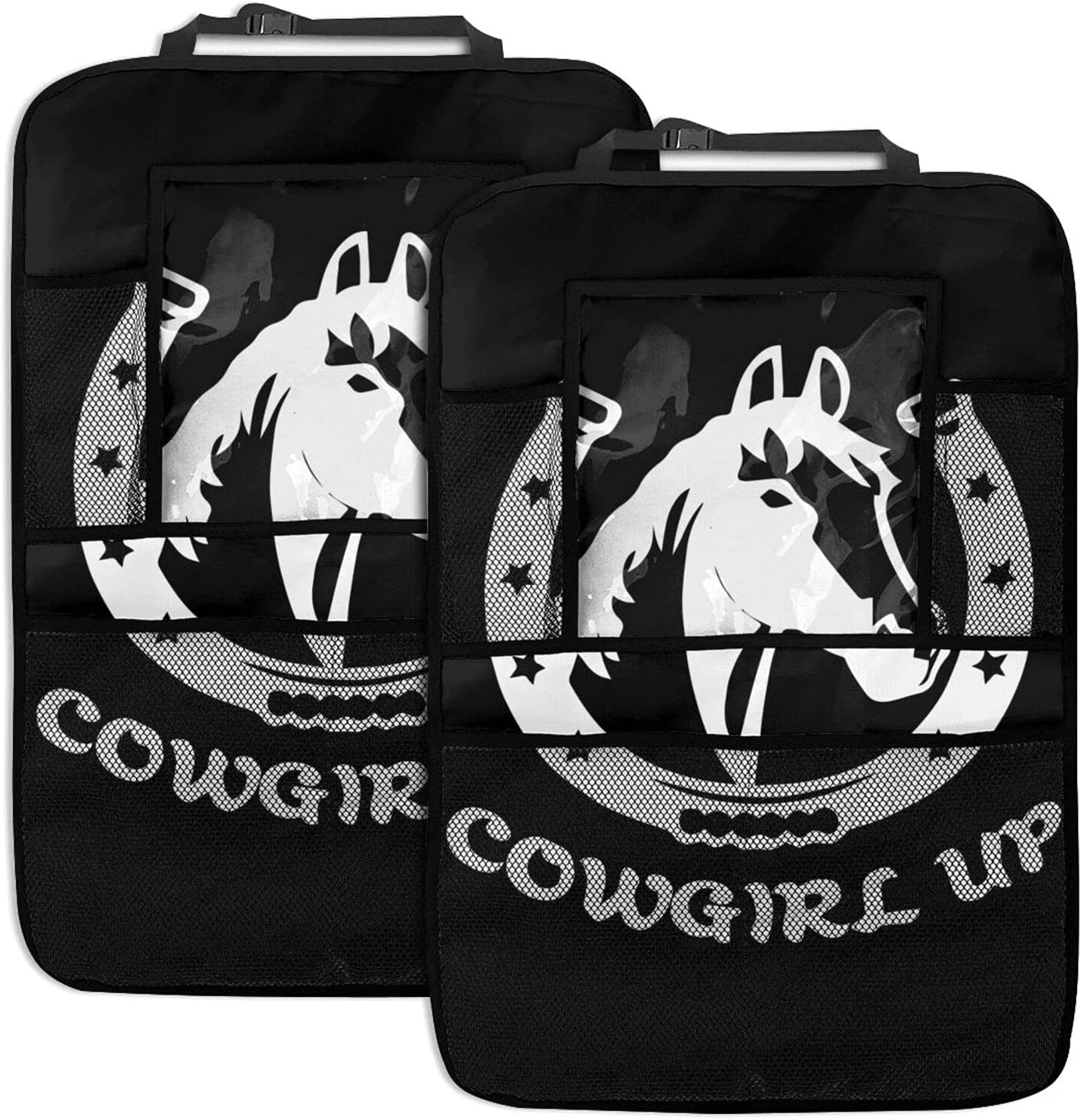 Cowgirl Up Car Backseat Organizer Screen With Tablet Touch Holde Oakland Mall supreme