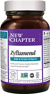 New Chapter Multi-Herbal + Joint Supplement, Zyflamend Whole Body for Healthy Inflammation Response