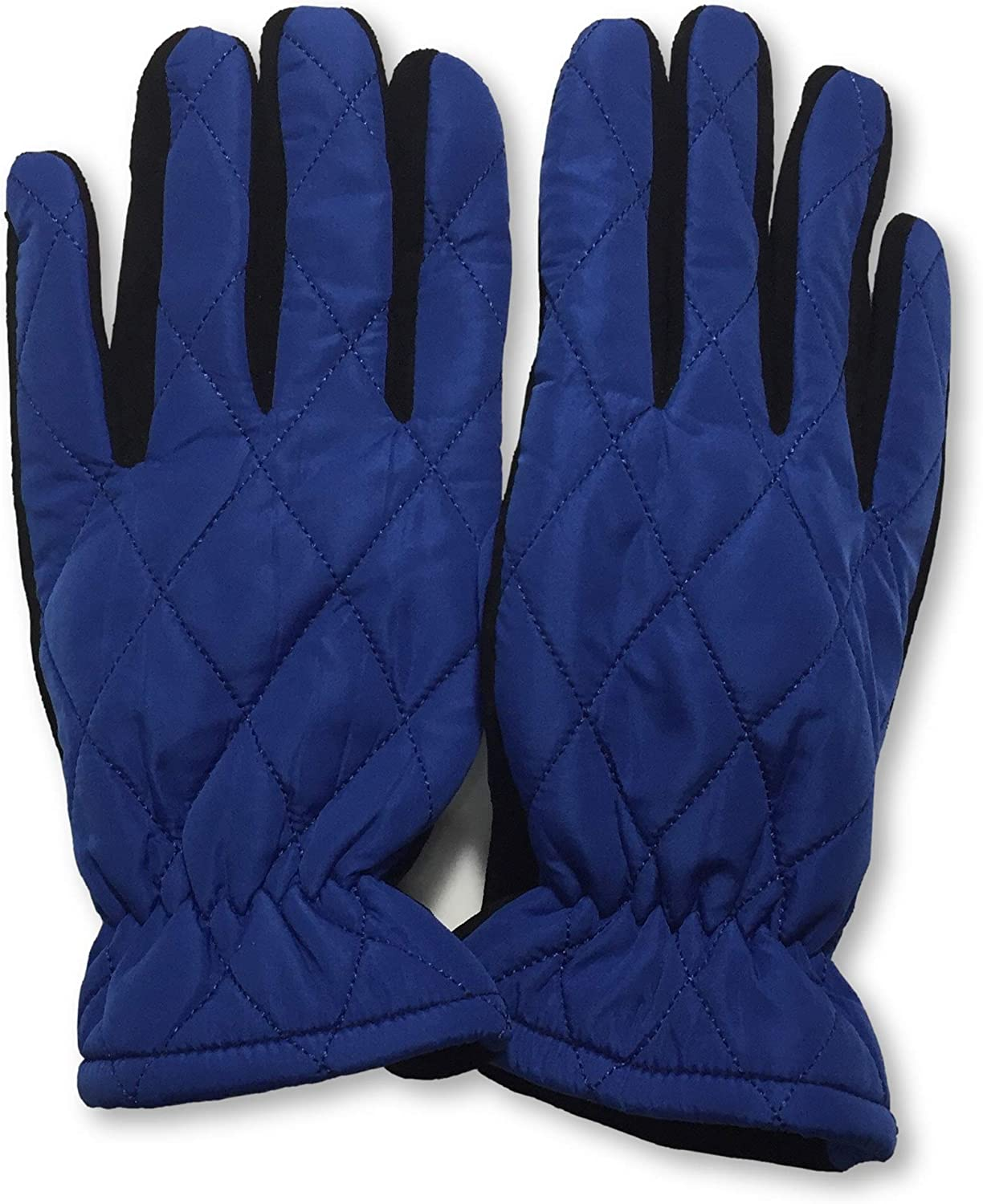 Quilted Leather Suede Palm Adult pair 1 Men's Limited price sale Gloves- Challenge the lowest price of Japan ☆
