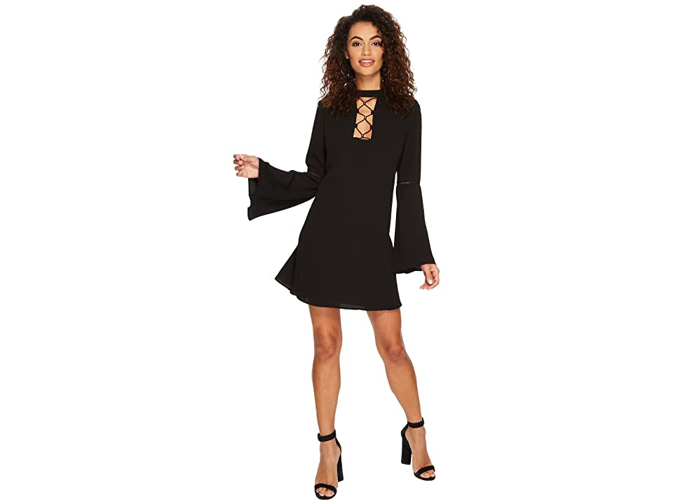 The Jetset Diaries Hiatus Mini Dress (Black) Women
