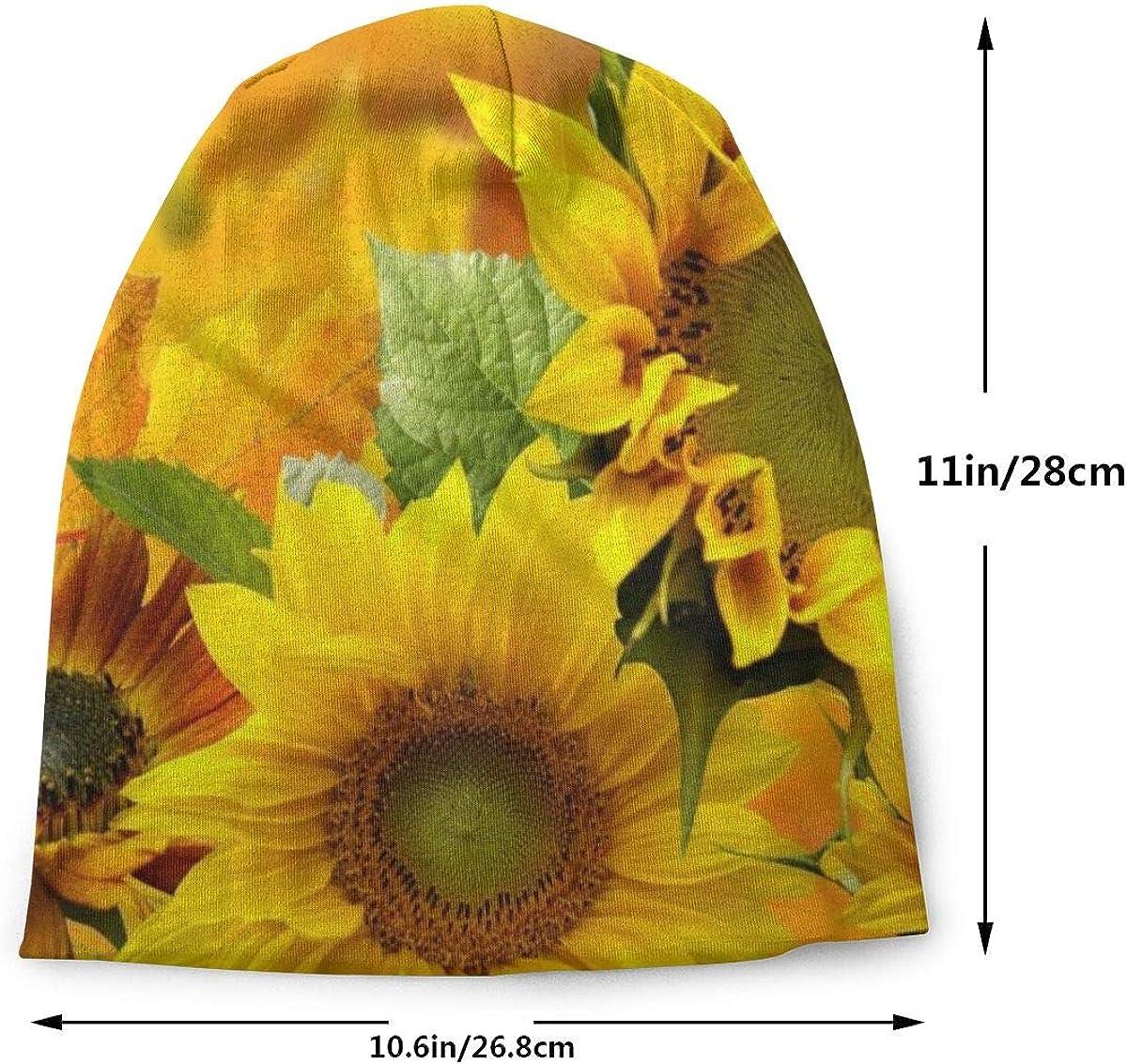 YongColer Men Slouchy Beanie Cap Women Headwear Sleep Cap Skull Cap Knitted Hat