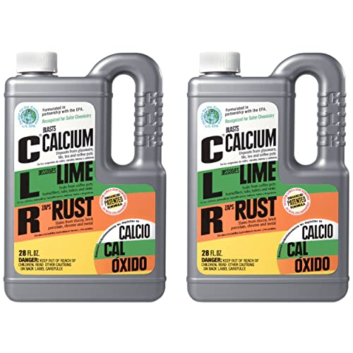 Calcium, Lime, and Rust Remover - 2 Pack
