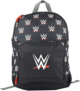 Official WWE Wrestling All-Over Print Backpack Rucksack (One Size)