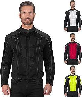 Warlock Mesh Motorcycle Jacket for Men
