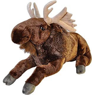 Wild Republic Jumbo Moose Plush, Giant Stuffed Animal, Plush Toy, Gifts for Kids, 30 Inches