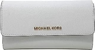 michael kors black trifold wallet
