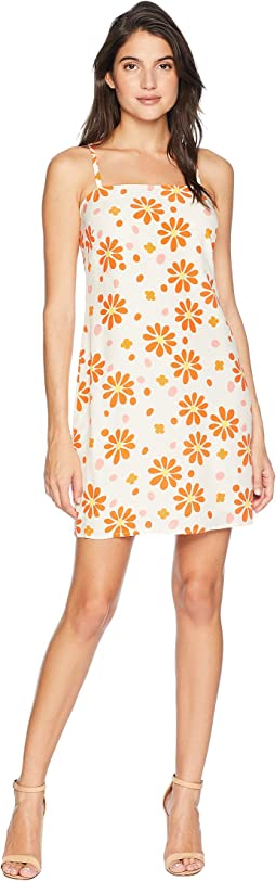 Dotted Daisy Slip Dress