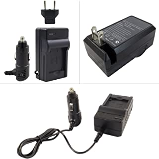 PT-41 AC/DC Rapid 8.4 Volt Battery Charger for Panasonic DMW-BCG10 and DMW-BCF10 and DMW-BCJ13 Batteries