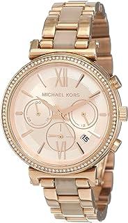 Michael Kors Sofie Women's Rose Gold Dial Stainless Steel Analog Watch - MK6560