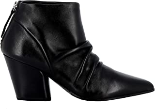 HALMANERA Luxury Fashion Womens ROSE12BLK Black Ankle Boots | Fall Winter 19