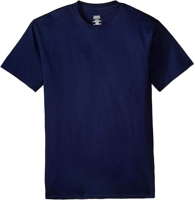 Hanes Men's Beefy-T Tall T-Shirt_Navy_4XT