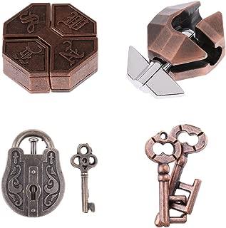 Best four key puzzle lock Reviews