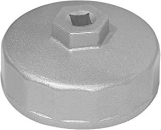 Qbreloh 74mm Oil Filter Wrench for Mercedes, Audi, VW, Porsche, Sprinter and Mazda -3/8
