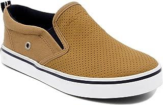 Nautica Kid's Akeley Youth Slip-On Casual Shoe Canvas Sneaker (Little Kid/Big Kid)