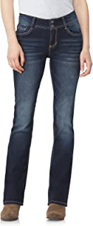 WallFlower Juniors InstaStretch Luscious Curvy Bootcut Jeans