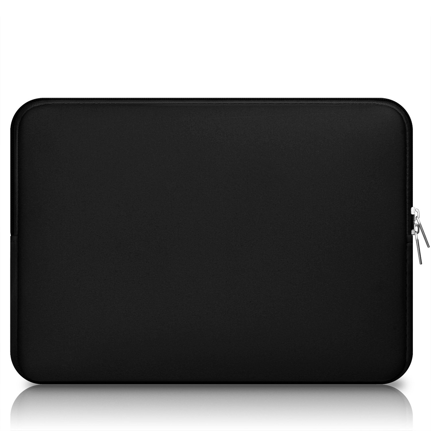 """CCPK 13"""" Laptop Sleeve 13 Inch Cover Protective Case Compatible with Apple MacBook Air 13.3 Inch Mac Pro M1 Surface Lenovo Dell HP Bag Computer Pouch Accessories Travel Carrying Case Neoprene, Black"""