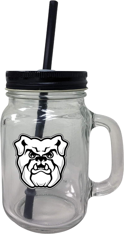 Super intense SALE R and Imports Butler Bulldogs NEW before selling Tumbler Jar Mason Set-NCAA