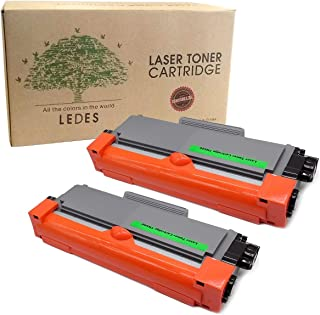 Ledes Compatible Toner Cartridge Replacement For Brother TN630 TN660 High Yield To Use With HL-L2300D HL-L2320D HL-L2340DW HL-L2380DW MFC-L2700DW MFC-L2740DW MFC-L2720DW Printer (Black, 2 Pack)
