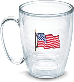 Tervis Flag American 16 oz Mug - Tritan, Boxed, Clear - 1051851