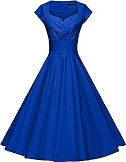 f7c40ec70cd GownTown Womens Dresses Party Dresses 1950s Vintage Dresses Swing Stretchy  Dresses