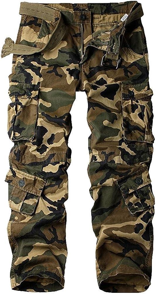 linlon New life Mens Cargo Pants Camo Combat Tactical BDU Pan Work Over item handling ☆
