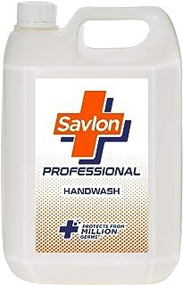 Savlon Professional Germ Protection Liquid Handwash Refill Can, 5 L