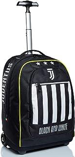 Big Trolley Juventus, Best Match, Blanco y Negro, Escuela y Viaje, con reloj a juego.