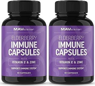 MAV Nutrition Immune Support Capsules, 60 capsules, 2 pack