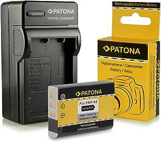 Cargador + Batería NP-95 NP95 para Fuji Fujifilm FinePix F30 | F-30 | F31 | F-31 | F31fd | F-31fd | X100 | X100s | X-S1 | FinePix Real 3D W1 y mucho más… [ Li-ion; 1600mah; 3.7V ]