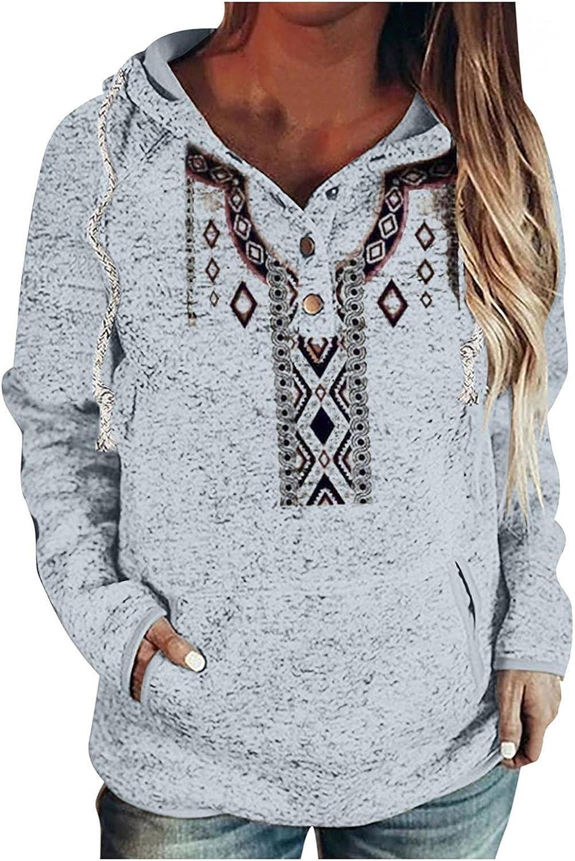 Masbird Hoodies for Women 2021, Womens Hoodies Long Sleeve Graphic Print Fall Sweaters Casual Cute Vintage Tops Hoodies