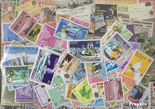promociones emocionantes Prophila Collection Seychelles 100 Diferentes Sellos (Sellos (Sellos (Sellos para los coleccionistas)  los últimos modelos