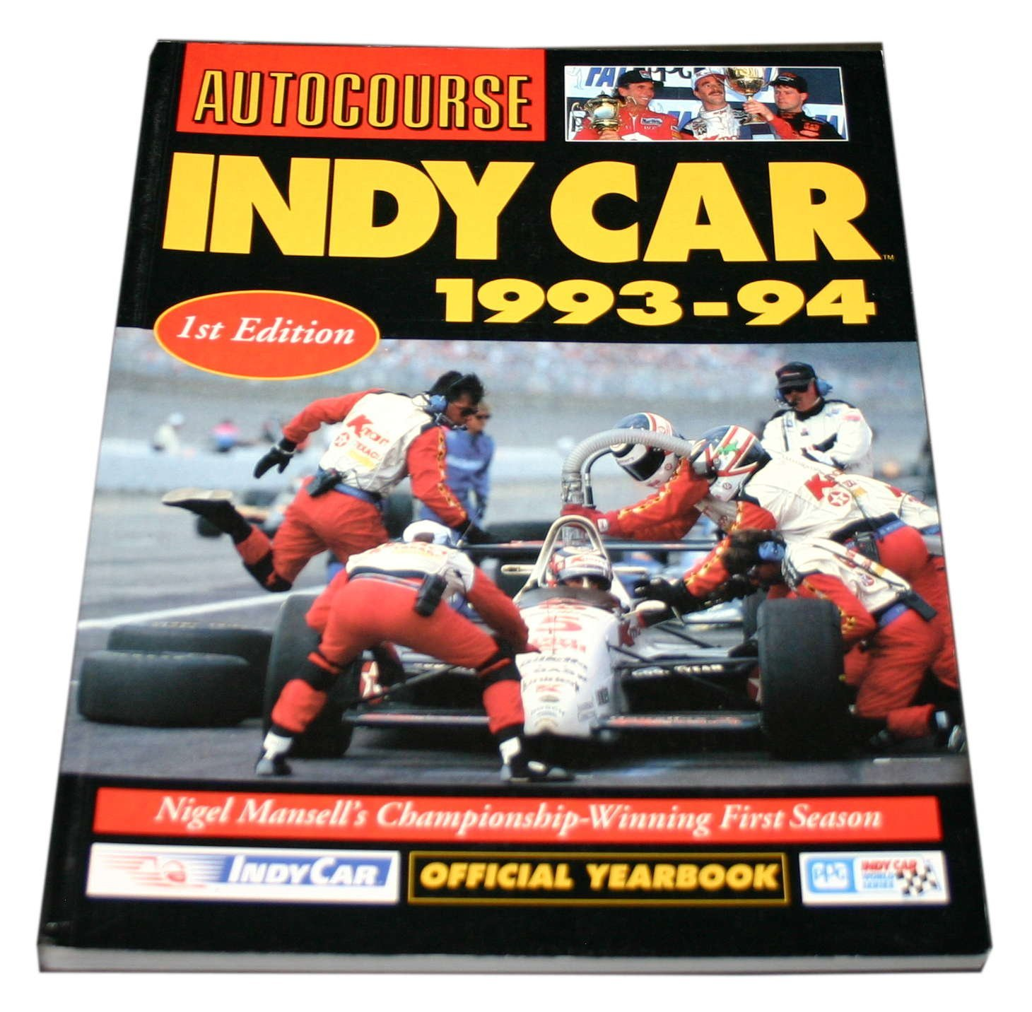 Autocourse Indy Car Yearbook 1993 94 by Jeremy Shaw (Editor) (25 Nov 1993)
