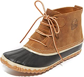 SOREL Women's Out N About Leather Snow