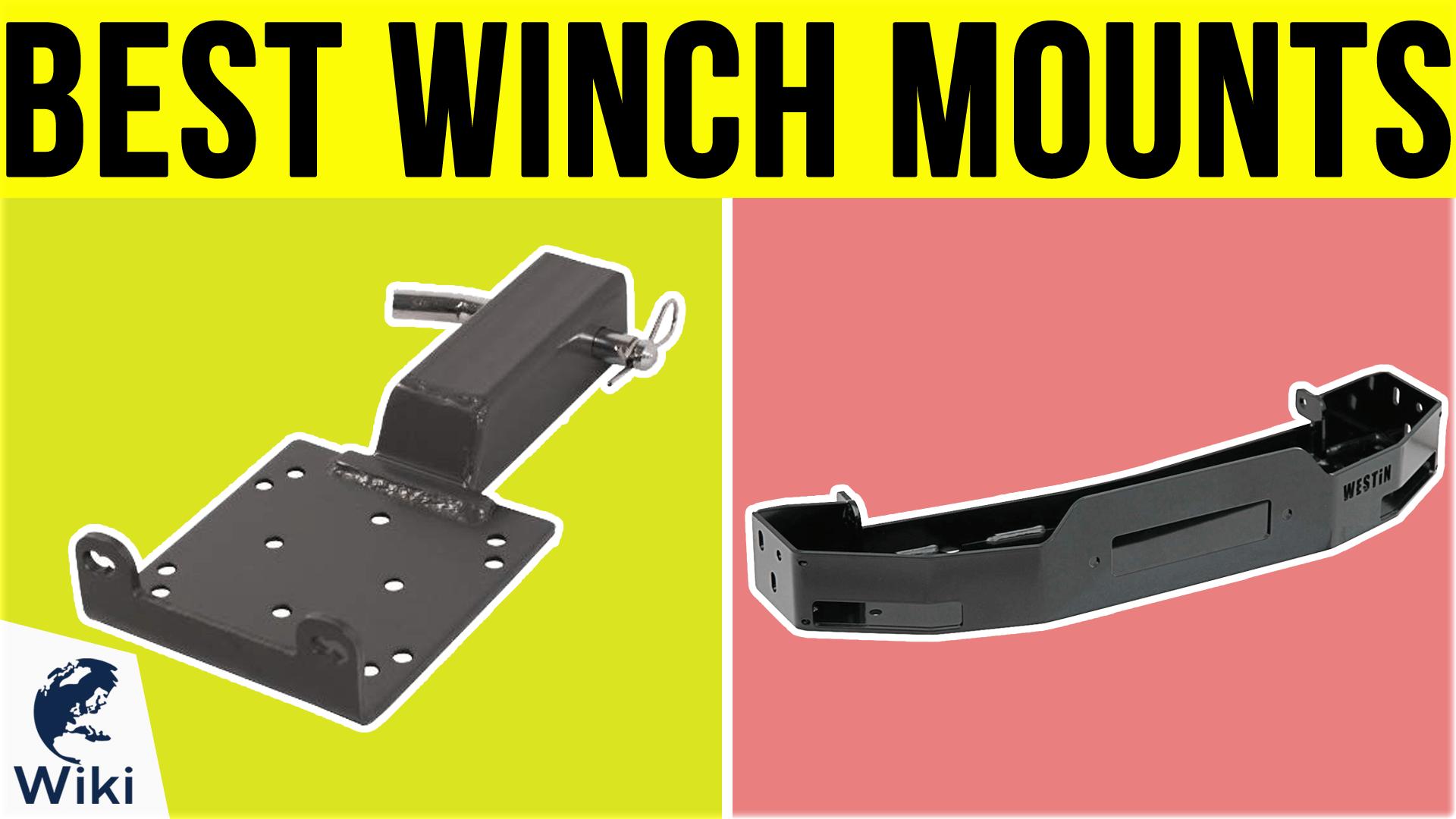 Warn Winch Mount Kawasaki KVF750 Brute Force 4x4i//4x4i EPS 70207
