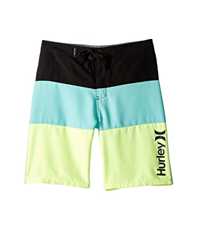 Hurley Kids Triple Threat Boardshorts (Big Kids) (Tropical Twist) Boy